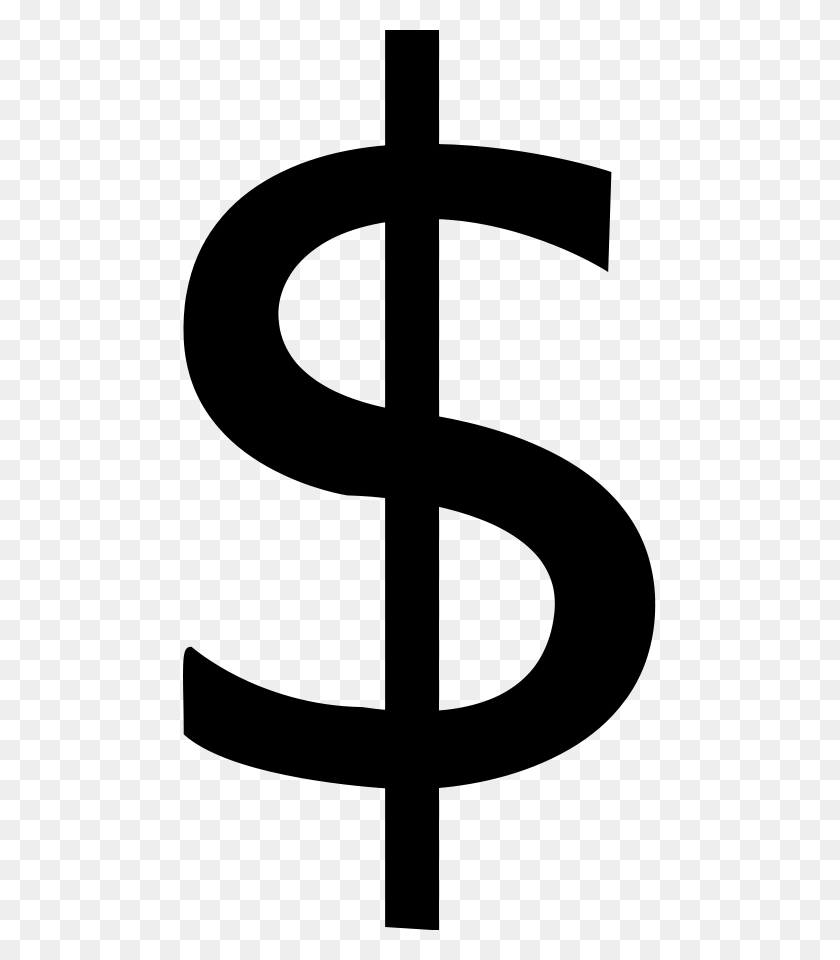 Free Clip Art Dollar Sign - Money Border Clipart