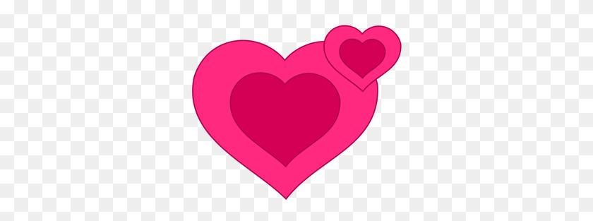 Free Clip Art Love Hearts - Love Border Clipart