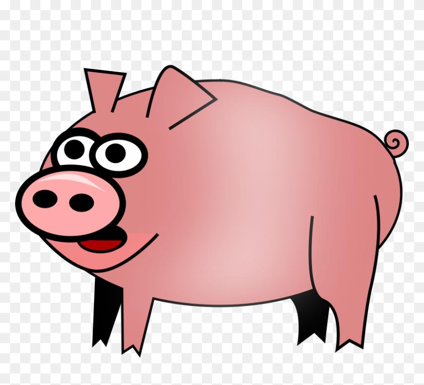 Free Clip Art Pig - Pig Image Clipart