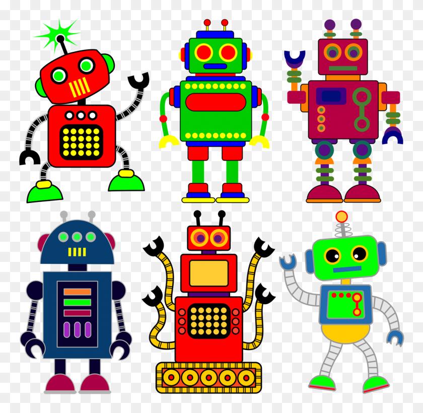 1600x1561 Free Clip Art Robot, Robot - Loon Clipart