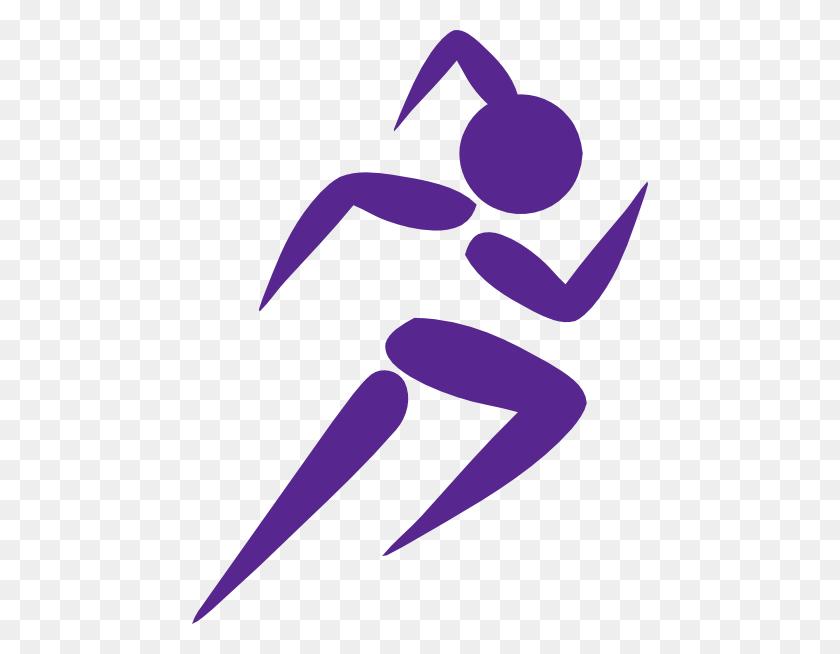 Free Clip Art Running Woman Girl Running Purple Clip Art - Tired Woman Clipart