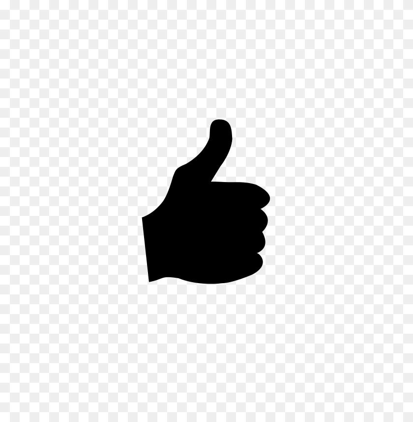 Free Clip Art Thumb - Thumbs Up Clipart Free