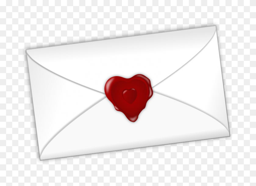 800x566 Free Clip Art Valentines Day - Love Letter Clipart