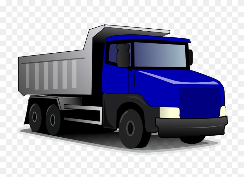 Free Clipart - Semi Truck Clipart