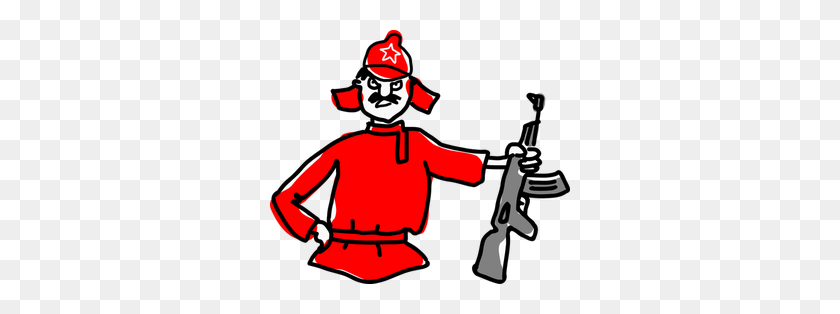 Free Clipart Army General - Crook Clipart