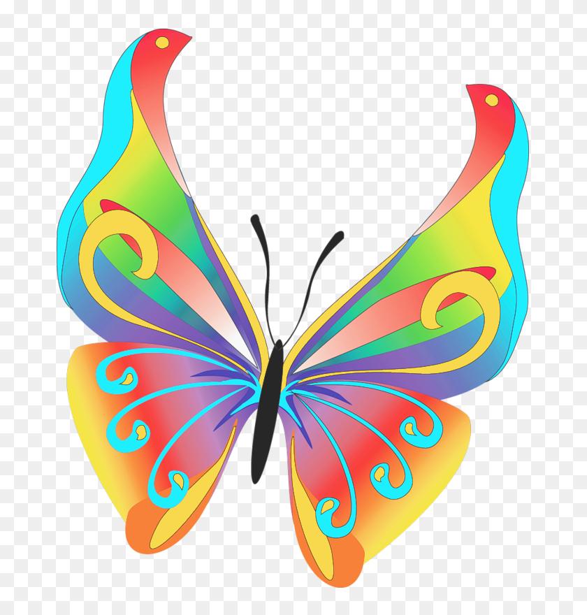 Free Clipart Butterflies Look At Butterflies Clip Art Images - Libra Clipart