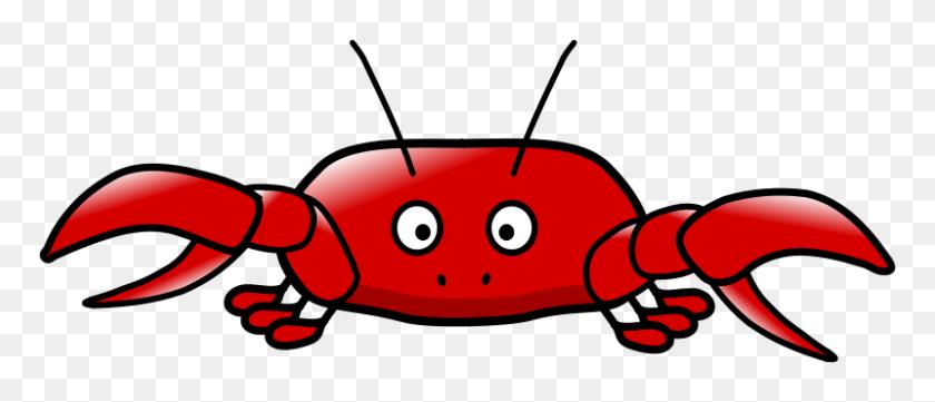 800x309 Free Clipart Cartoon Crab - Free Crab Clipart