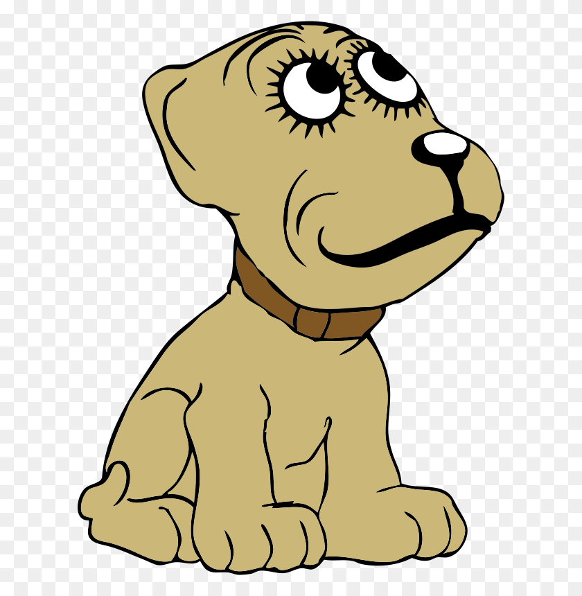 Free Clipart Cartoon Dog Johnny Automatic - Cartoon Dog PNG
