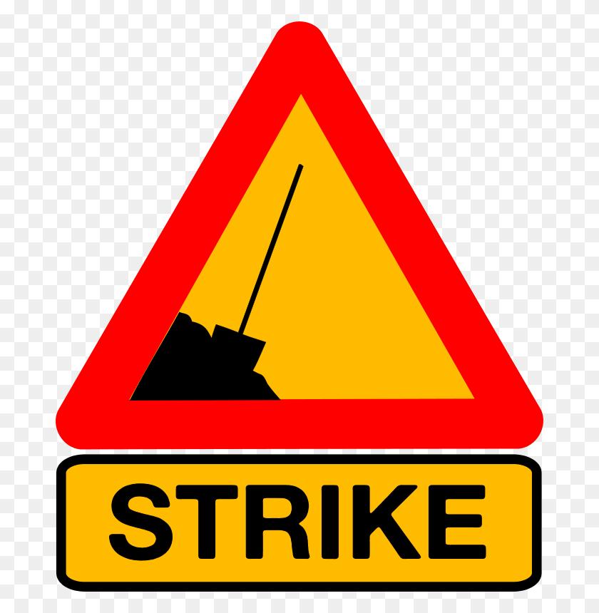 Free Clipart Caution Strike Dominiquechappard - Strike Clipart