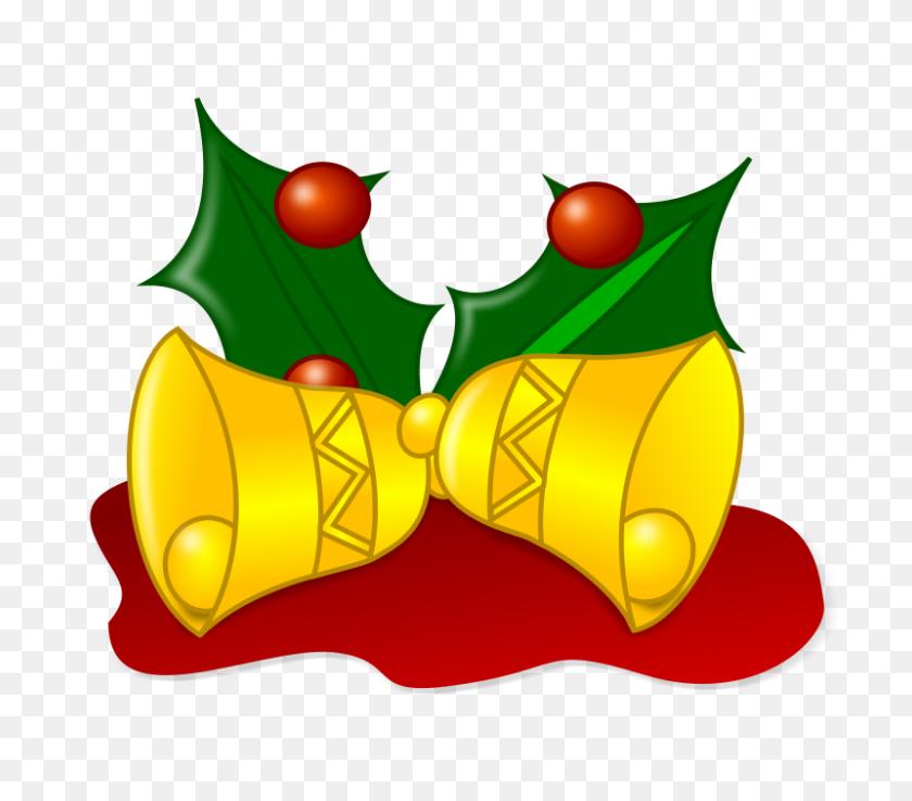 Free Clipart Colored Jingle Bells Nicubunu - Jingle Bells Clipart