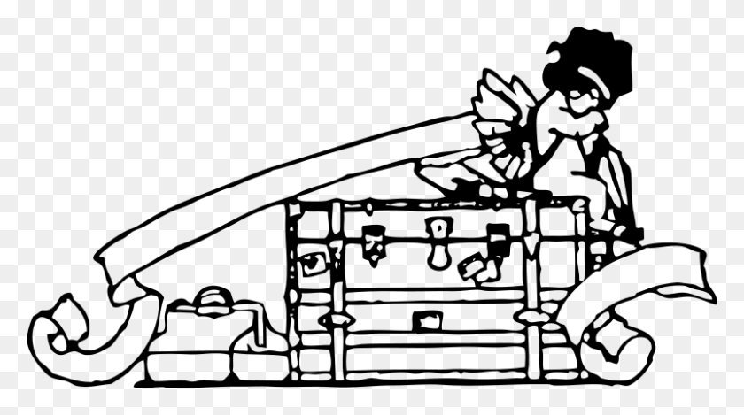 800x420 Free Clipart Cupid And Baggage Johnny Automatic - Free Cupid Clipart