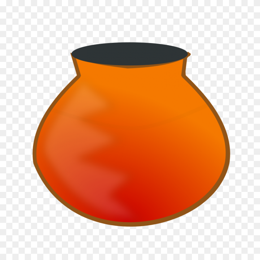 800x800 Free Clipart Earthen Pot Netalloy - Artifact Clipart