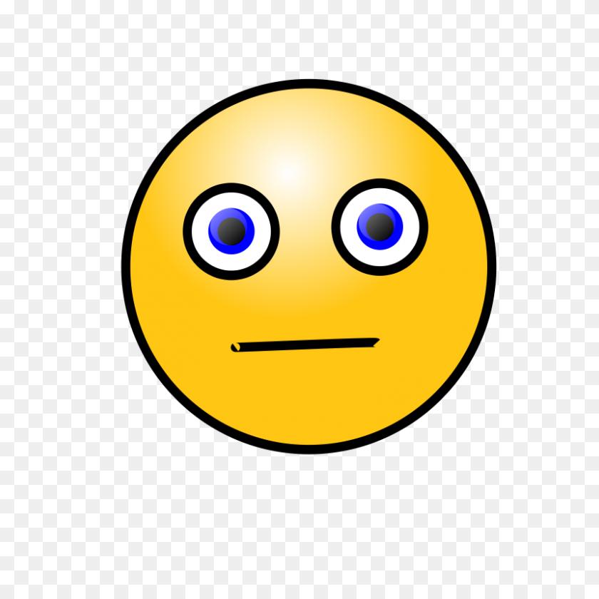 Free Clipart Emoticons Worried Face Nicubunu - Worried Face Clipart