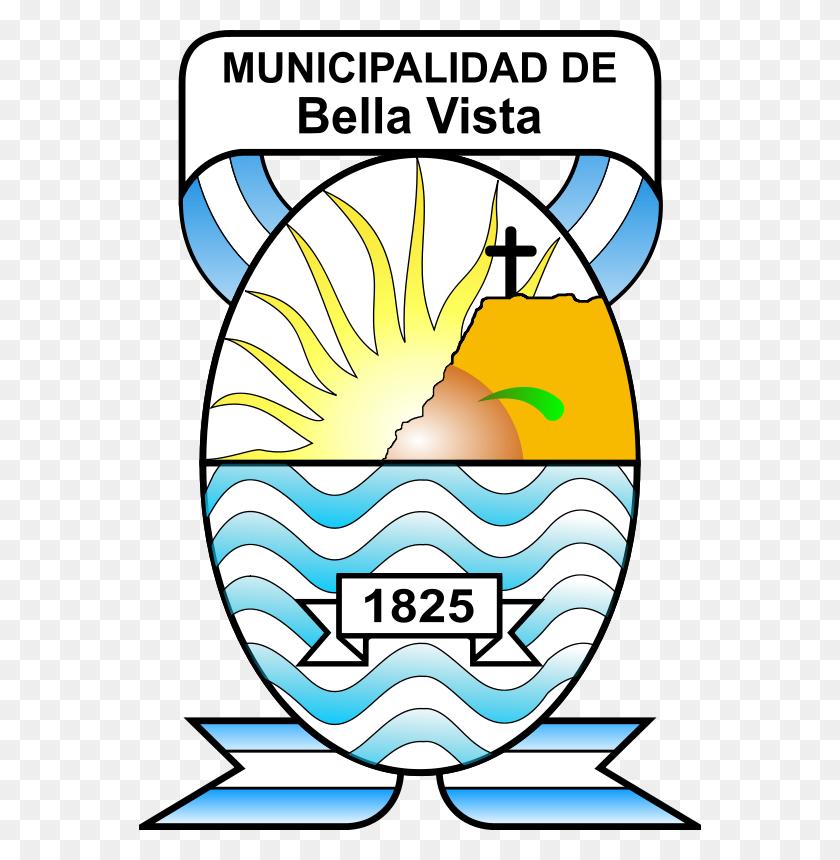 562x800 Free Clipart Escudo De La Municipalidad De Bella Vista - Argentina Clipart