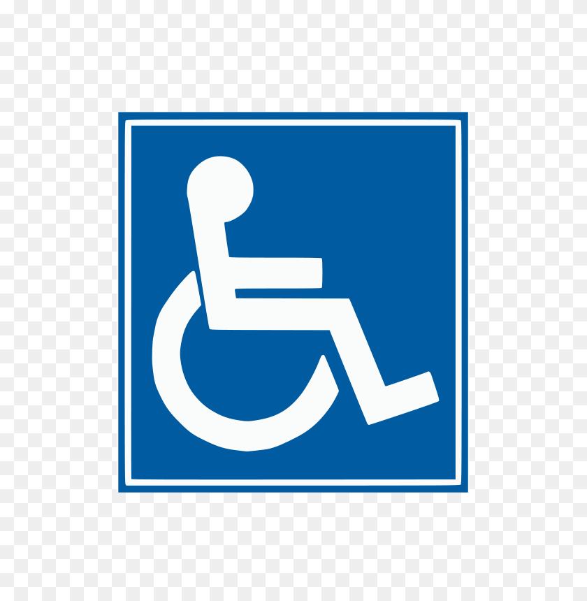 Free Clipart Handicap Sign Wice - Handicap Clipart