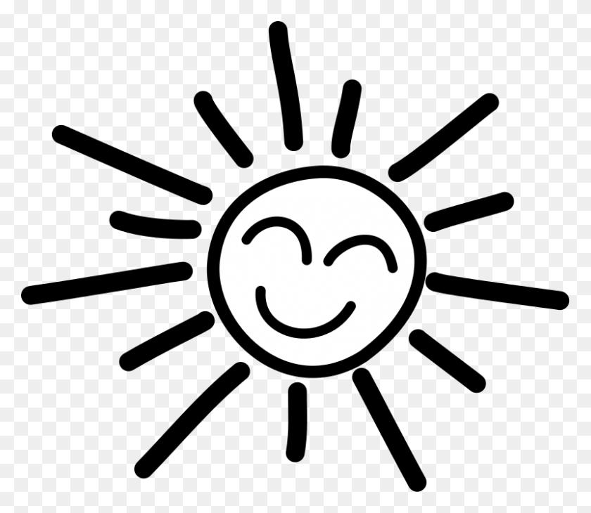 Free Clipart Happy Stick Figure Sun Uroesch - Happy Sun Clipart