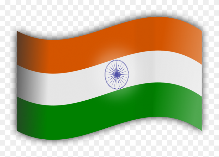 Free Clipart Indian Flag - Indian Flag Clipart