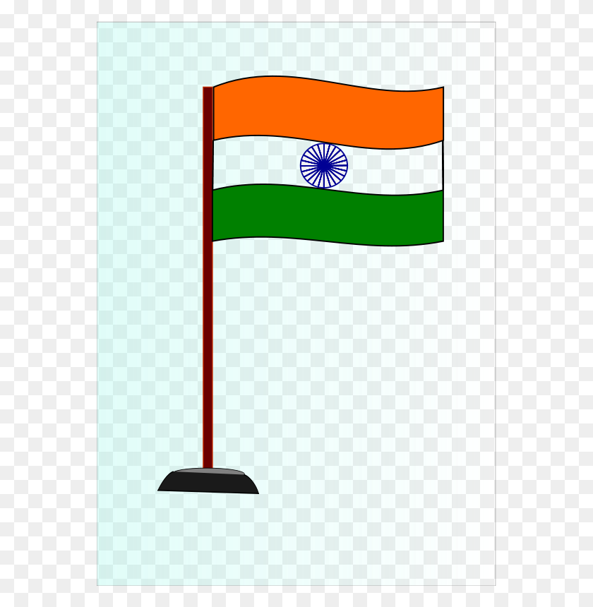 Free Clipart Indian National Flag - Indian Flag Clipart