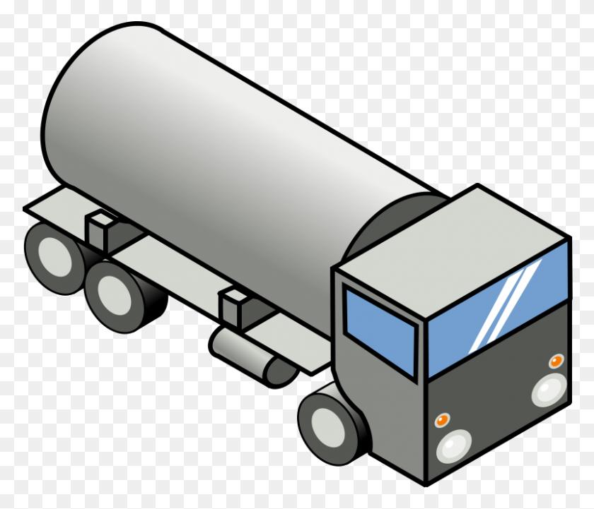 Free Clipart Iso Truck Secretlondon - Truck And Trailer Clip Art
