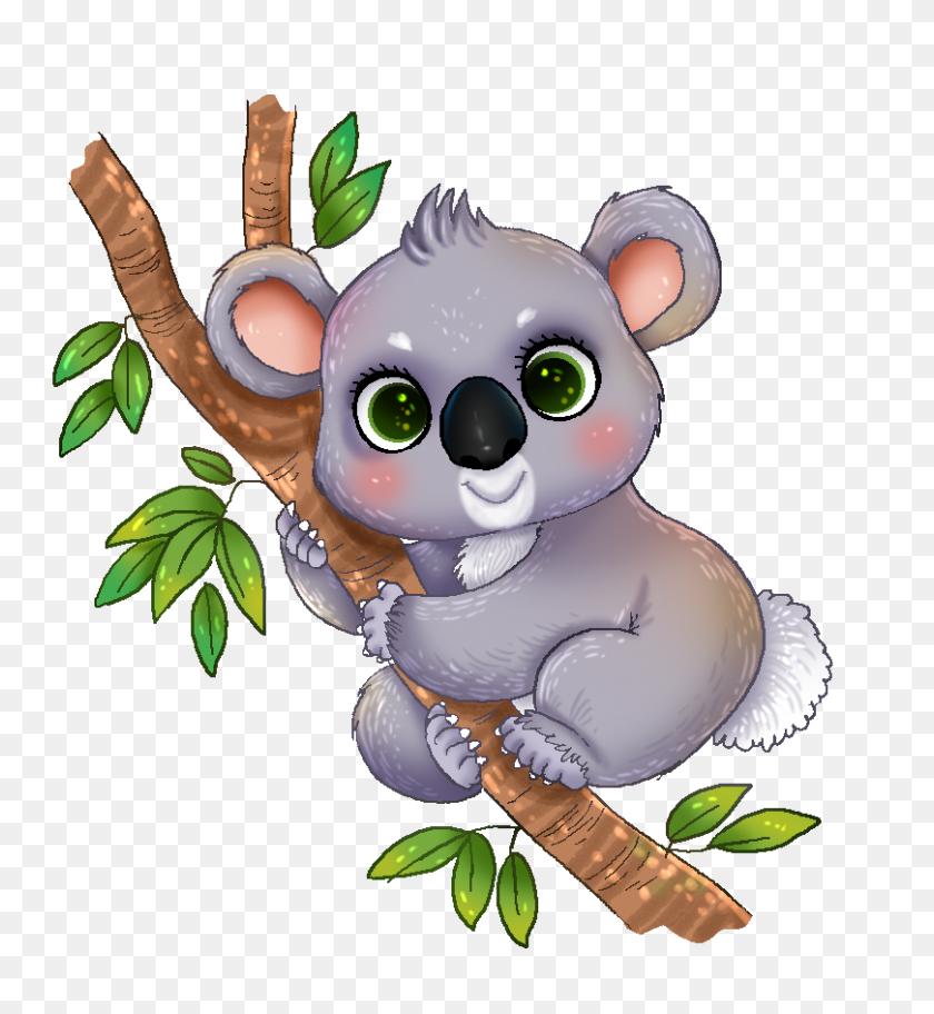 Free Clipart Koala - Precious Moments Clipart