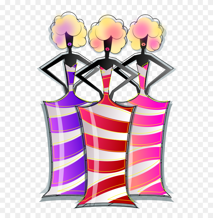 Free Clipart Ladies Fashion Viscious Speed - Fashion Clipart