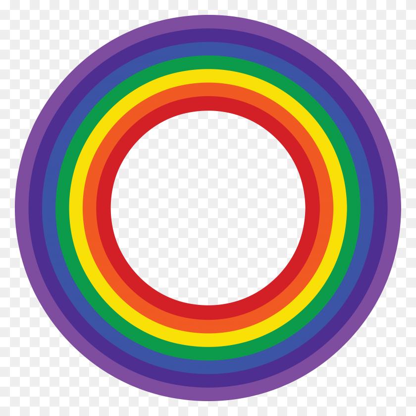 Free Clipart Of A Rainbow Border - Rainbow Border Clipart