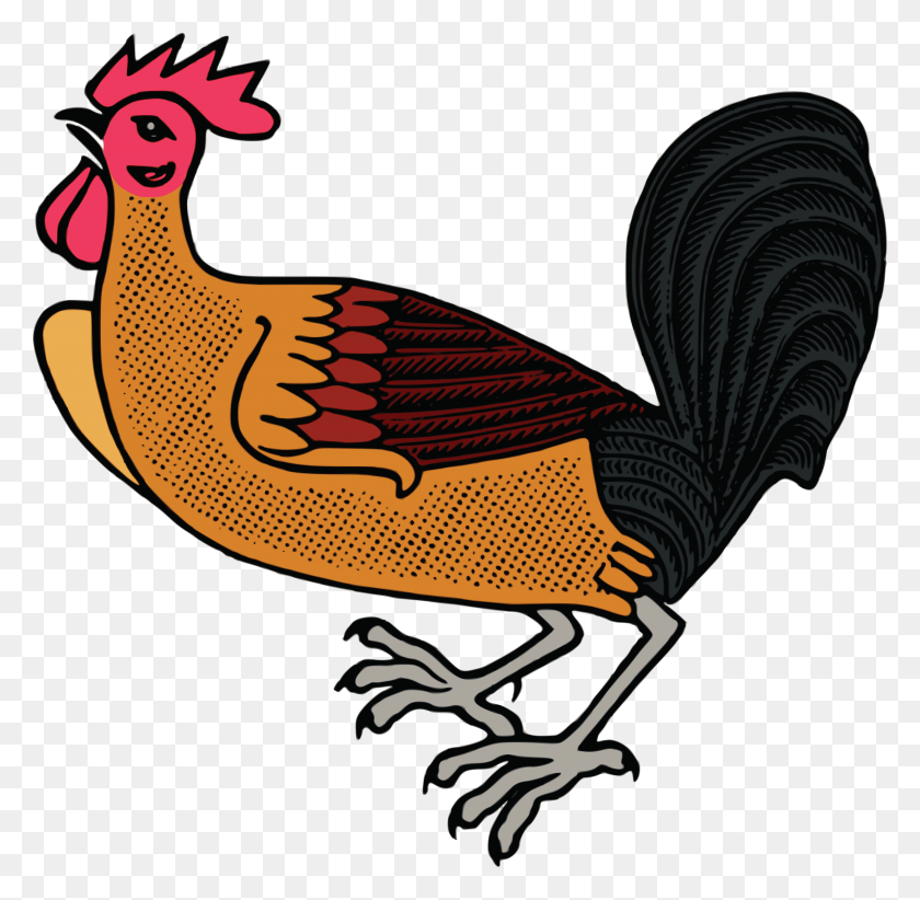 Free Clipart Of A Rooster - Rooster Clipart