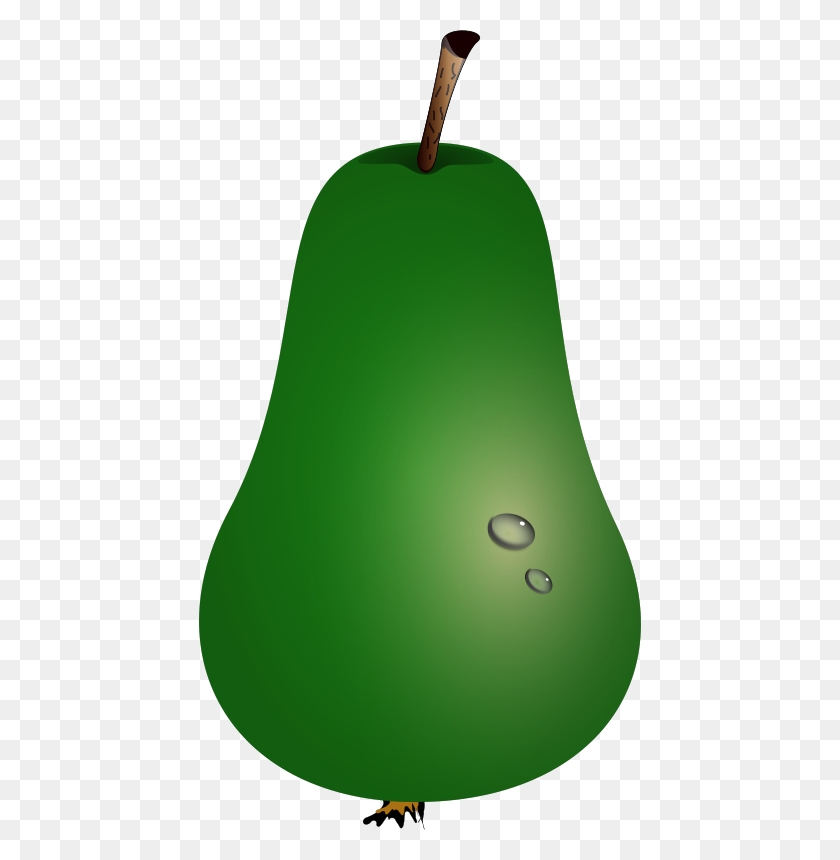 Free Clipart Pear Drunken Duck - Pear Clipart