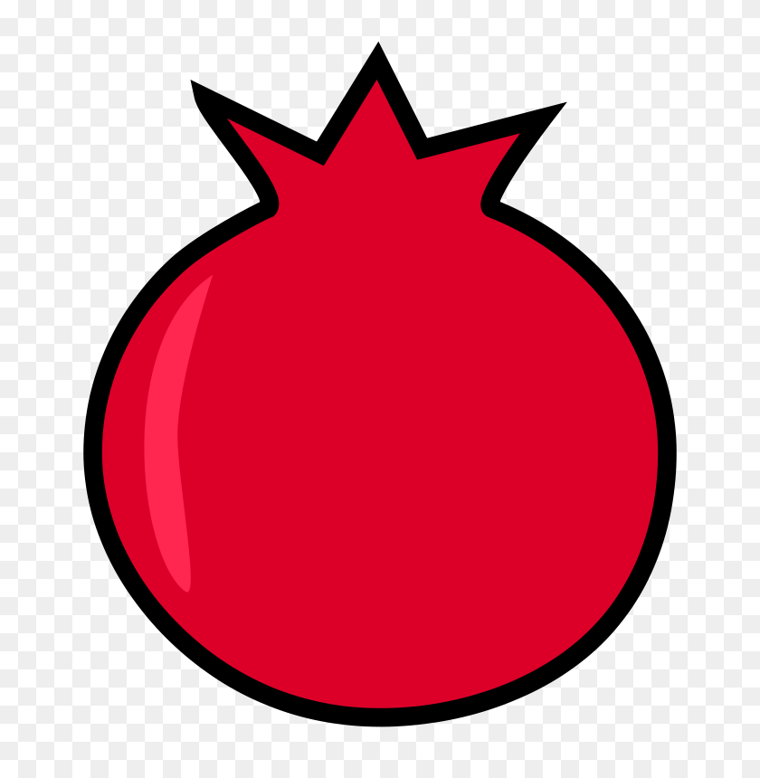 Free Clipart Pomegranate - Pomegranate Clipart