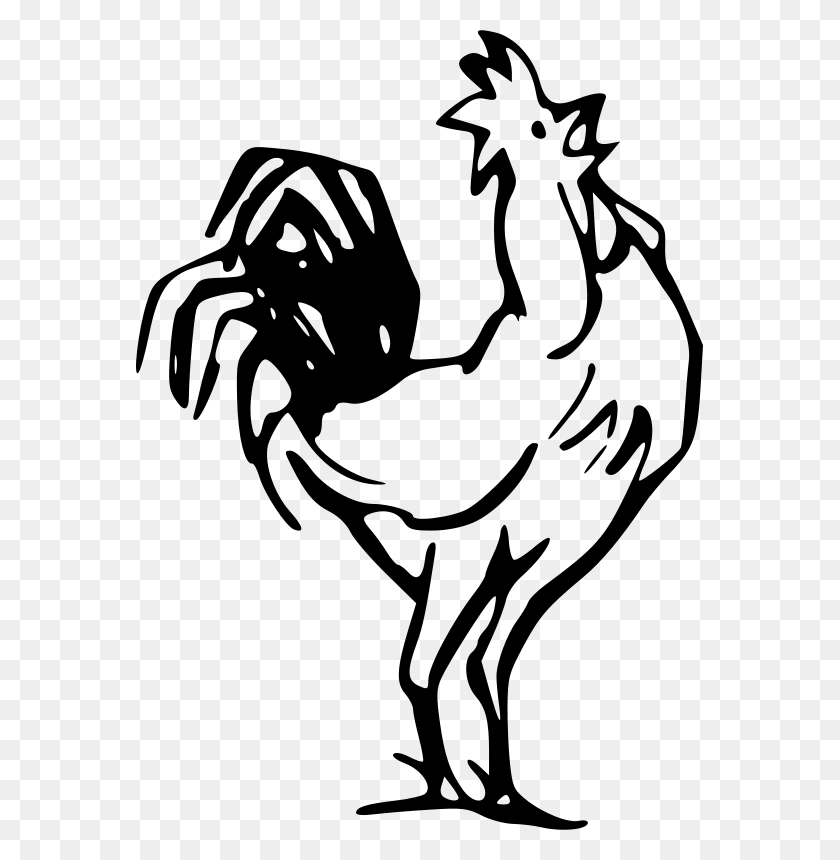 Free Clipart Rooster Gerald G - Rooster Clipart