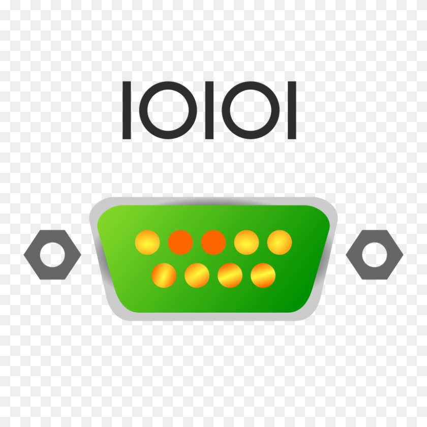 Free Clipart Serial Port Icon - Port Clipart