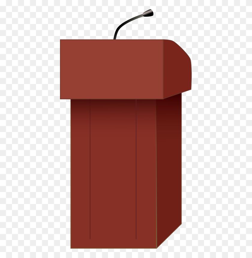 Free Clipart Speaker's Podium J Alves - Podium Clipart