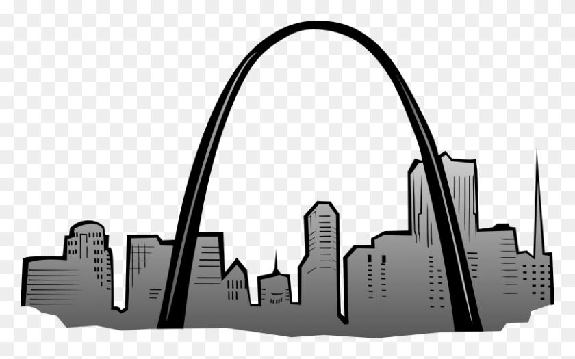 Free Clipart St Louis Gateway Arch Gerald G - St Louis Arch Clip Art
