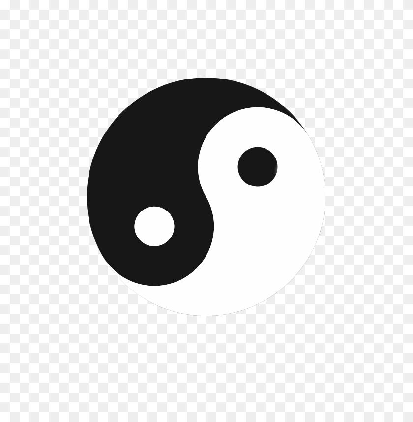 566x800 Free Clipart Tai Chi Tu Atomik - Tai Chi Clip Art