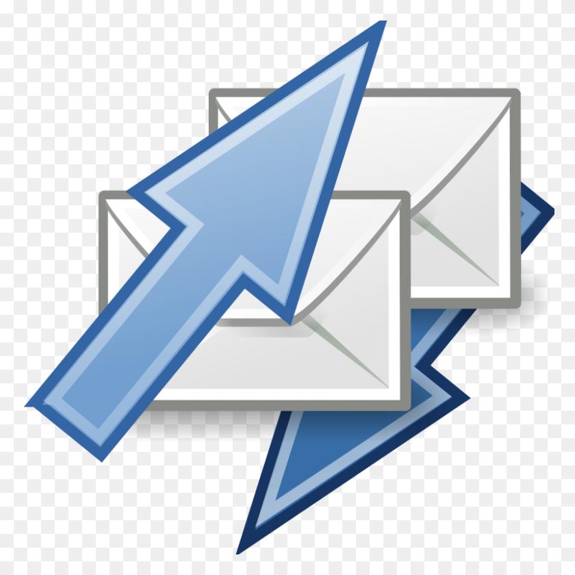 Free Clipart Tango Mail Send Receive Warszawianka - Send Clipart
