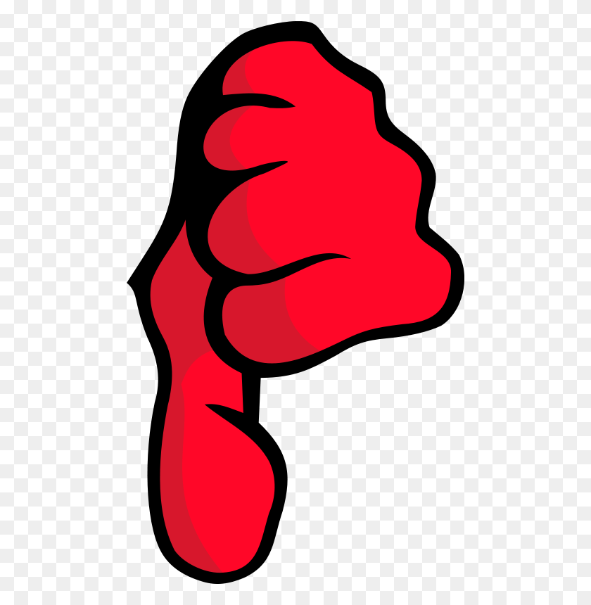 Free Clipart Thumbs Down Qubodup - Thumbs Down Clipart