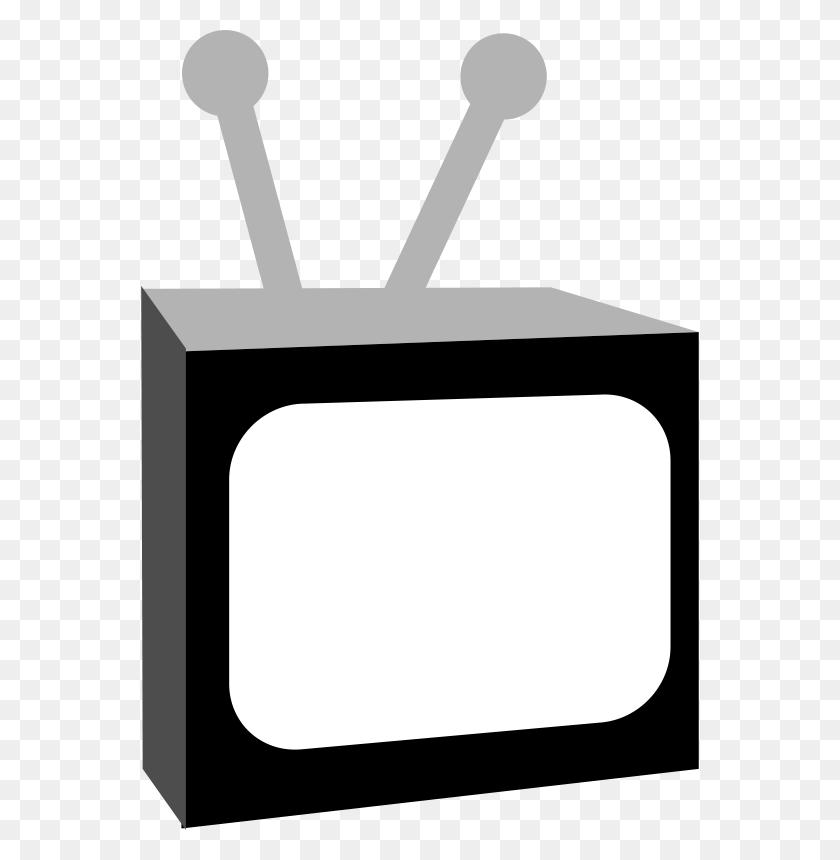 Free Clipart Tv Black And White Sheikh Tuhin - Tv Clipart Black And White