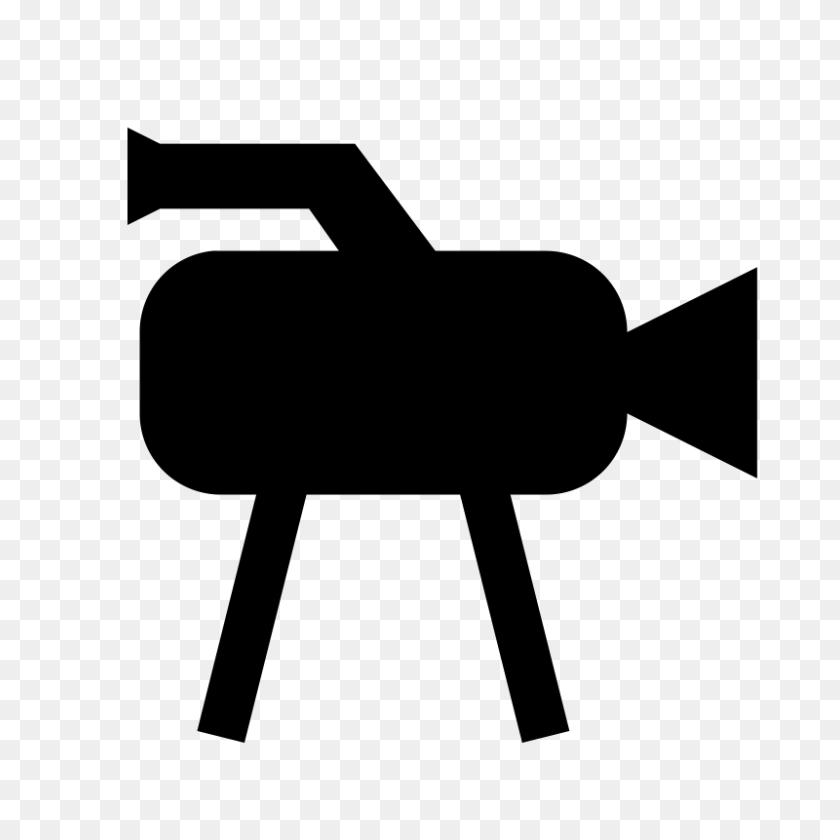 Free Clipart Tv Camera Icon Basarugur - Media Clipart