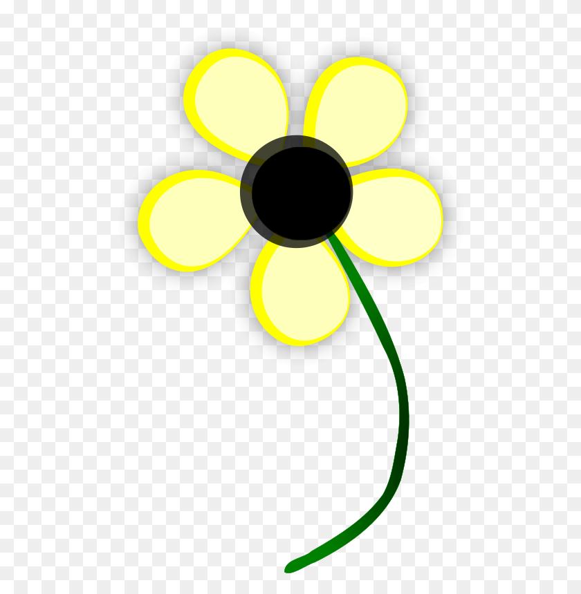 Free Clipart Yellow Daisy Arcdroid - Yellow Daisy Clipart