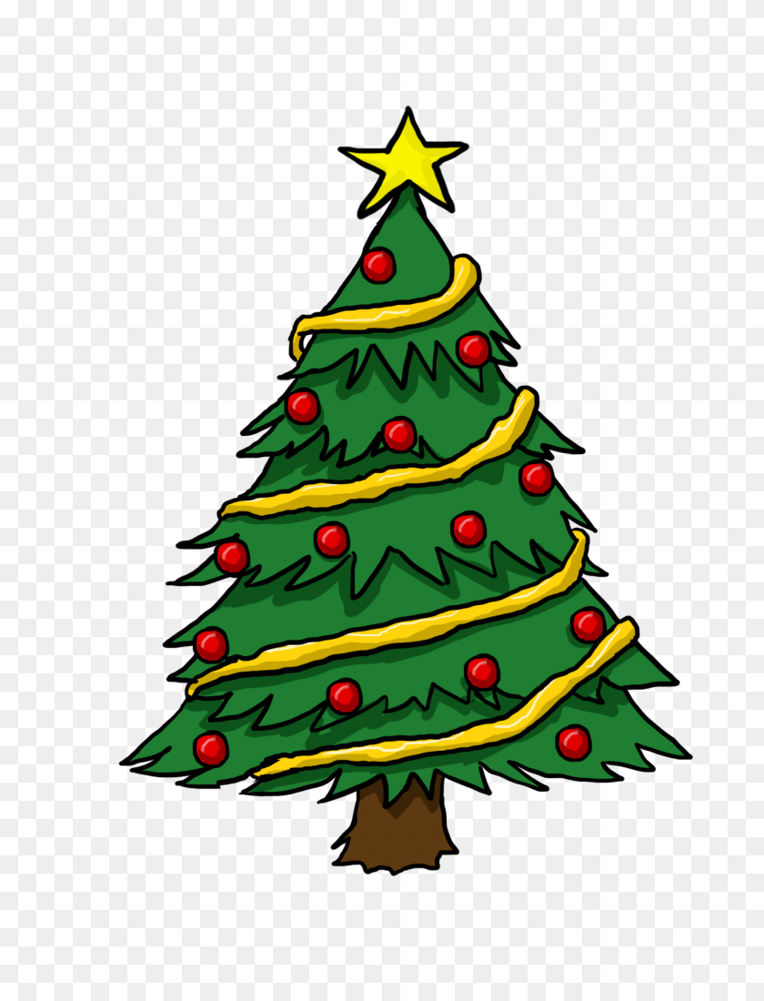 Free Cliparts - Simple Christmas Clipart