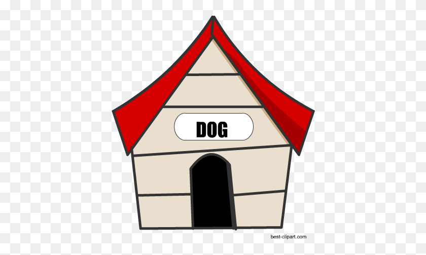 Free Dog House Clip Art Image - Free Dog Clip Art