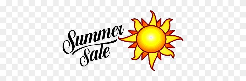 Free Download Of Microsoft Summer Sale Vector Logo - Summer Sale Clipart