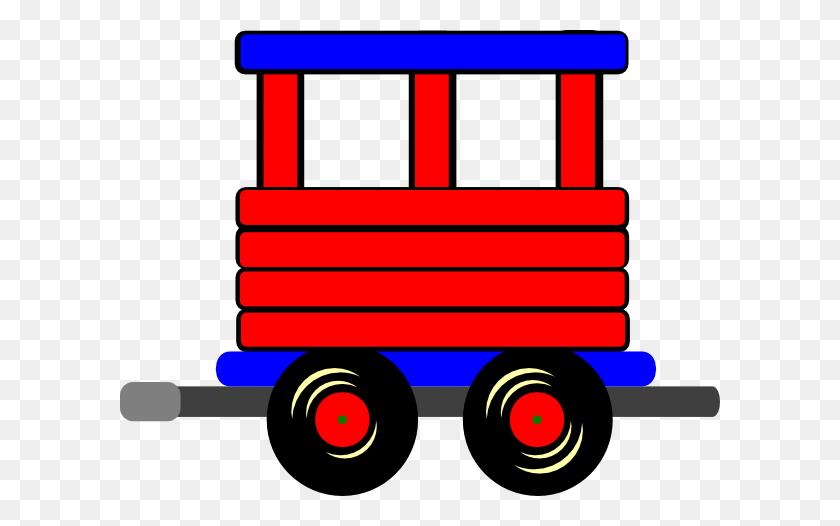 Free Download Toy Train Passenger Car Locomotive Clip Art - Toy Train Clipart