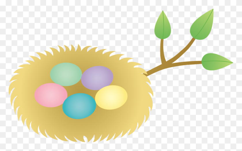Free Easter Clipart Bird Nest Eggs Clip Art - Egg Carton Clipart