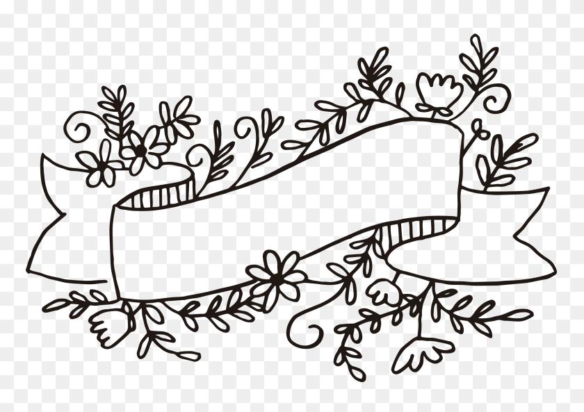3300x2256 Free Floral Banner Graphics Set Of Cu Ok Pediatric Office - Mandala Clipart