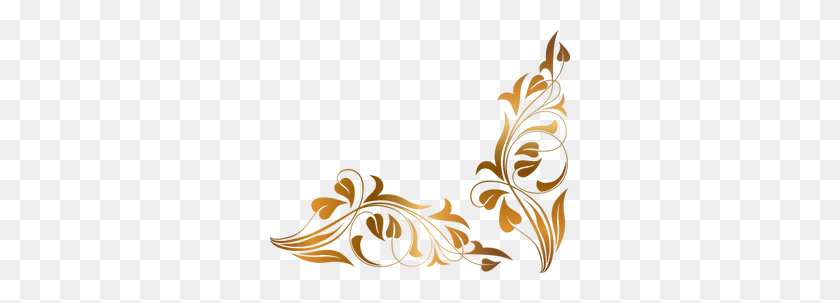 Free Floral Vine Border Clip Art - Vine Border Clip Art