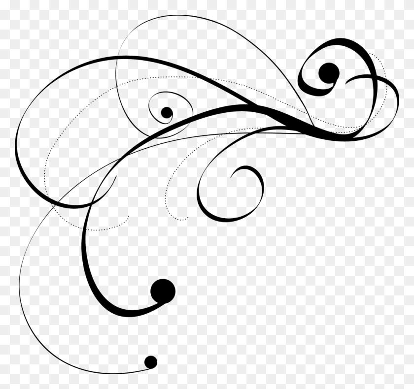Free Flourish Graphic - Paper Scrolls Clipart