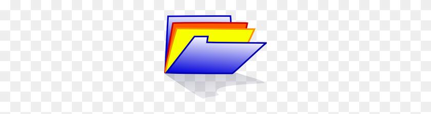 Free Folder Clipart Png, Folder Icons - Blue Folder Clipart