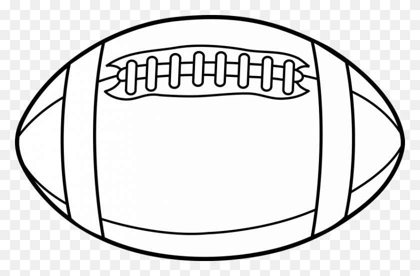 Free Football Clipart Lines - Missouri Outline Clipart