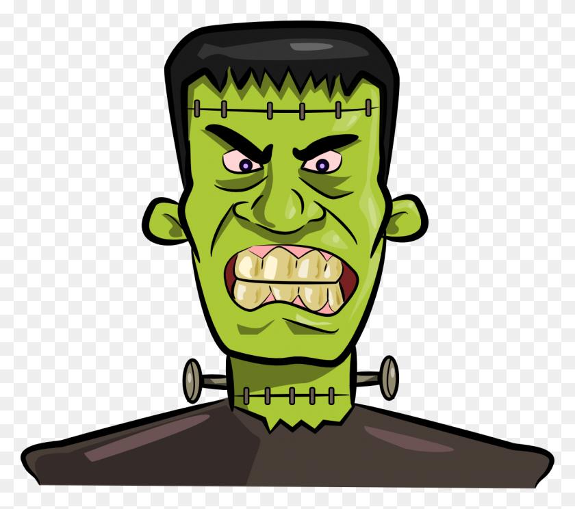 Free Frightening Frankenstein Clip Art - Werewolf Clipart